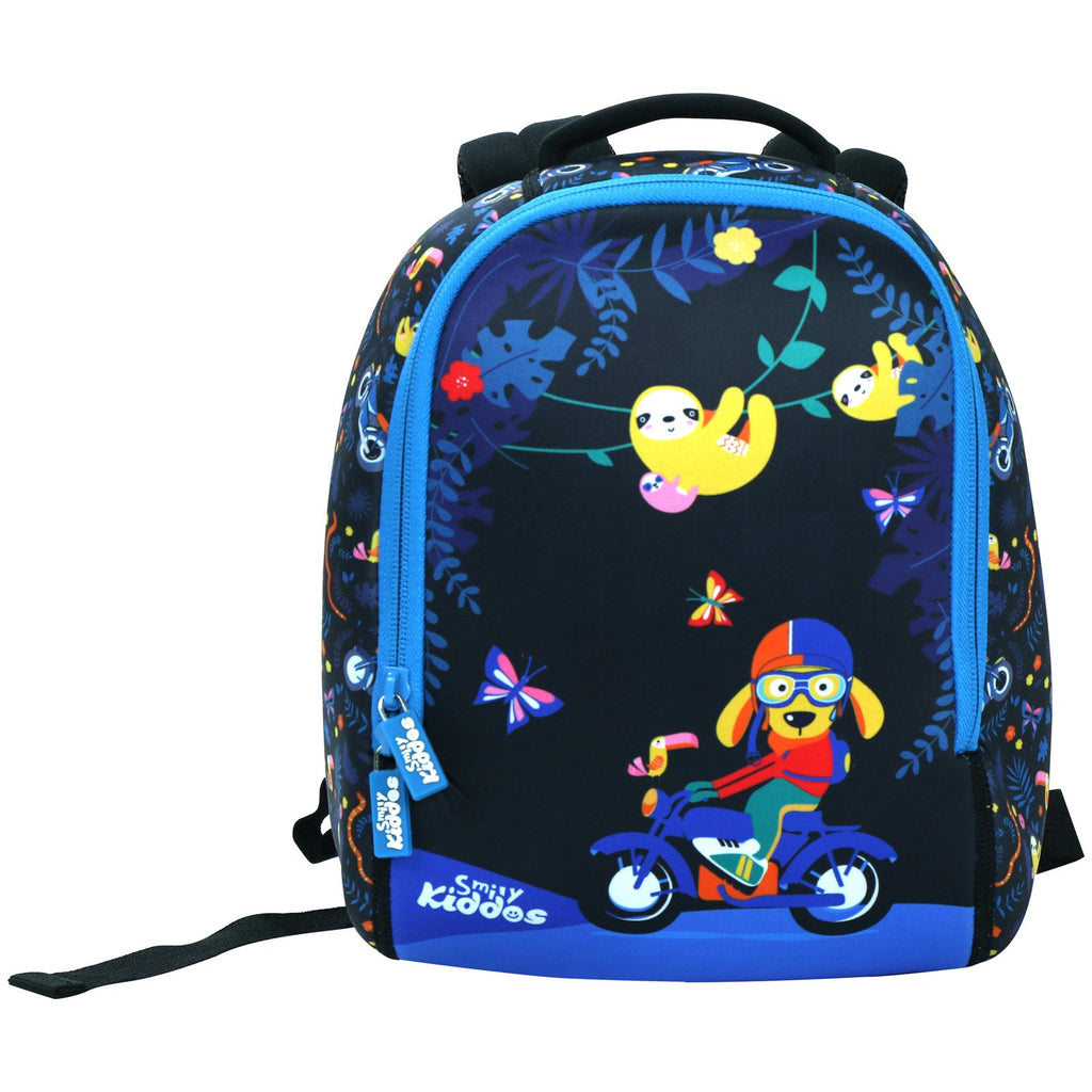 Smily Preschool Backpack (Black)