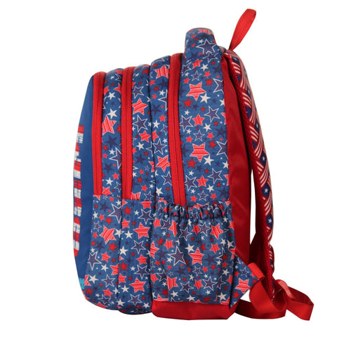 Image of Smily kiddos American Hero Blue Backpack