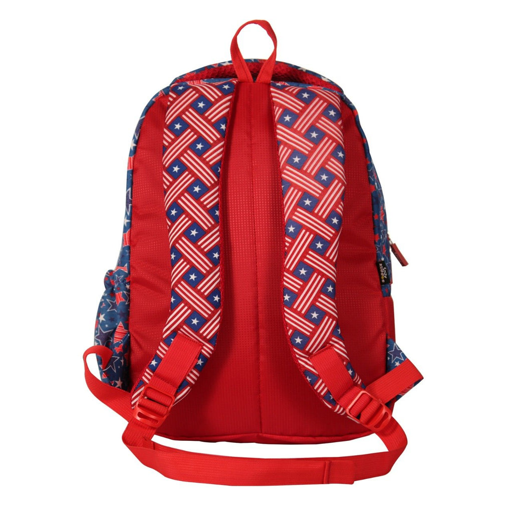 Smily kiddos American Hero Blue Backpack