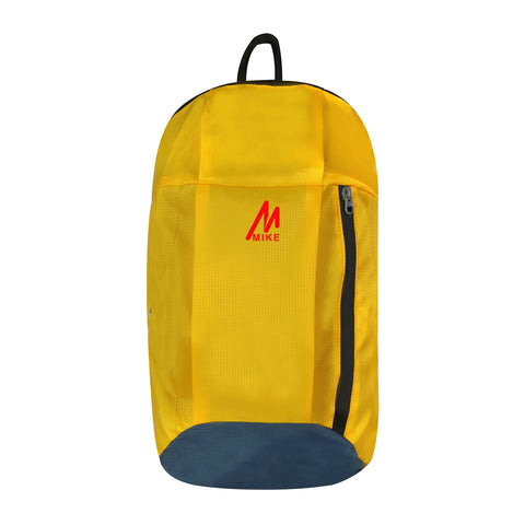 Image of Mike Casual Unisex Backpack - Yellow