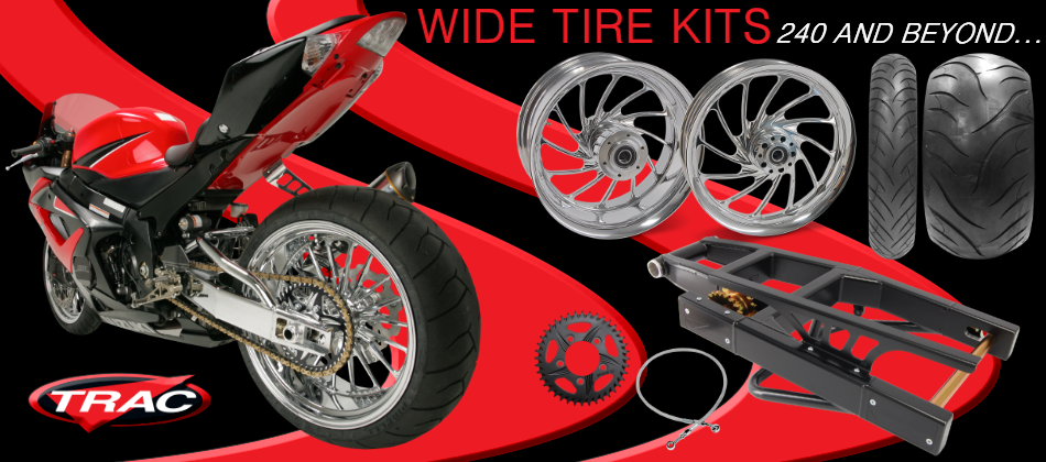 Trac Wide Tire Kits