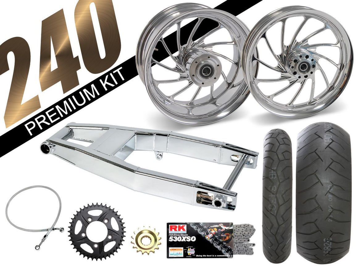 GSXR-1000 Chrome 240 Kits