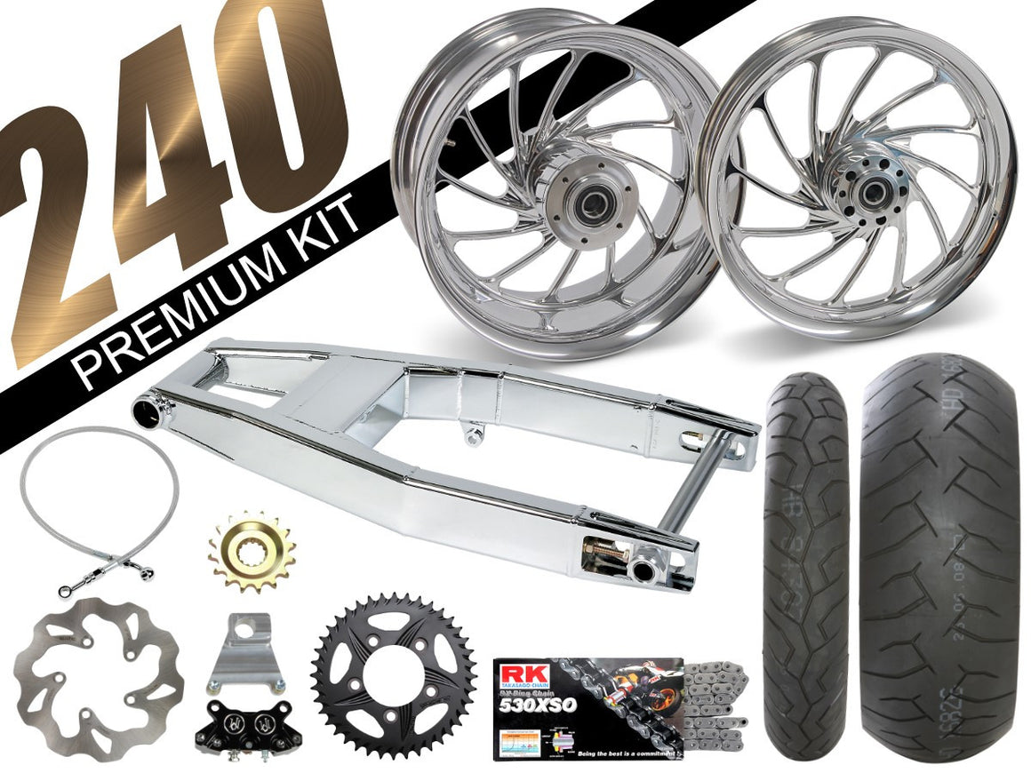 ZX-14 Chrome 240 Kits