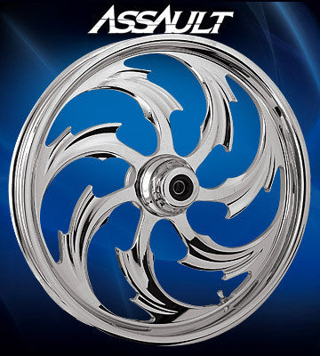 RC Assault Wheels (Chrome)