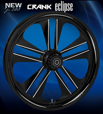 RC Crank Wheels (Black)