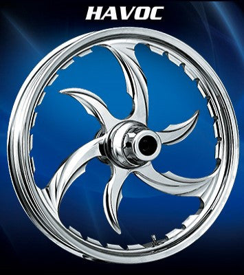 RC Havoc Wheels (Chrome)