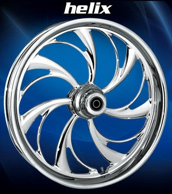 RC Helix Wheels (Chrome)