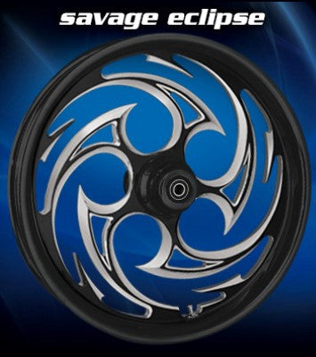 RC Savage Wheels (Black)