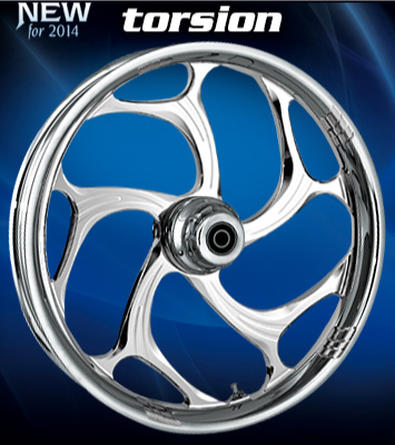 RC Torsion Wheels (Chrome)