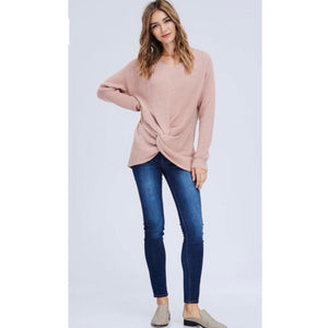 """Mauve Today"" Sweater - Latitudes Boutique"