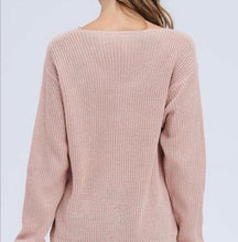 "Load image into Gallery viewer, ""Mauve Today"" Sweater - Latitudes Boutique"