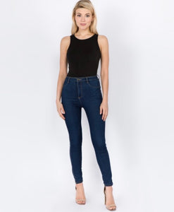 The Kendal Bodysuit - Black