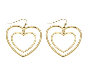 Valentines - Heart Earrings (Bundle) - Latitudes Boutique