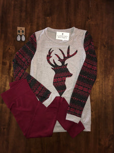 """Oh Deer"" Sweater - Latitudes Boutique"
