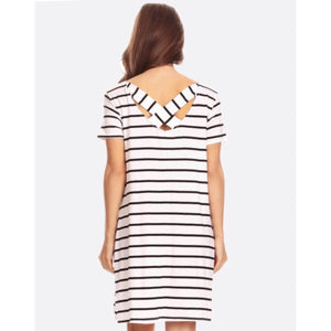 Come Sail Away Dress - White - Latitudes Boutique