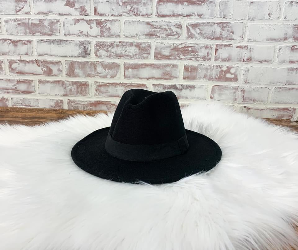 The Rancher Hat - Black