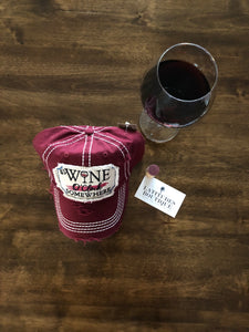 Wine O'Clock Hat - Latitudes Boutique