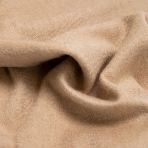 Woven cashmere scarf in oatmeal