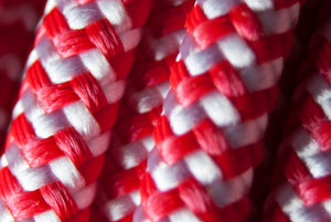 Cable Zebra Rojo