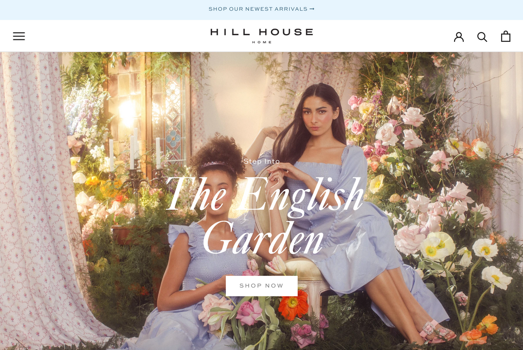 hill house home shopify design