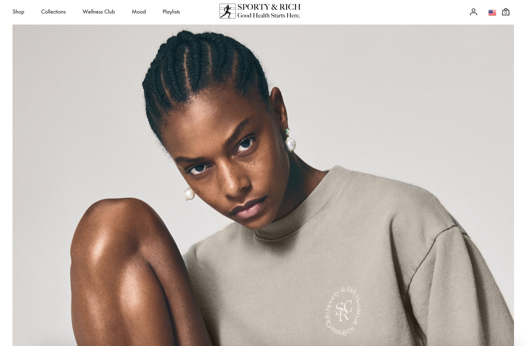 sporty and rich fashion shopify website design