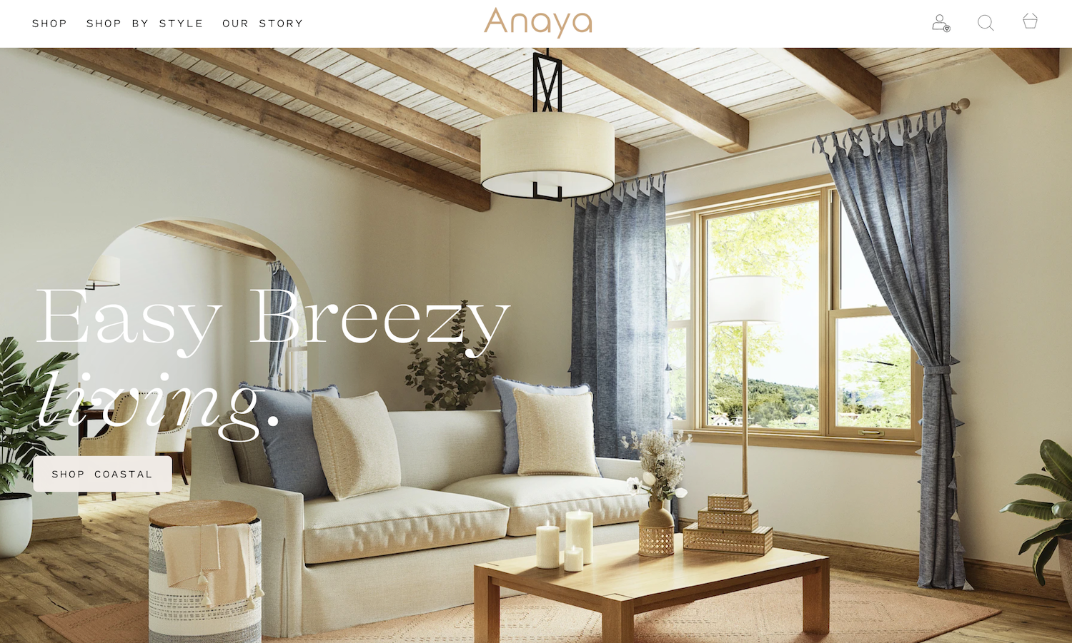Shopify Home Decor Website Design