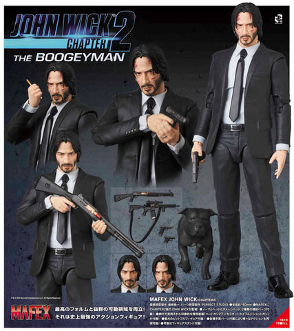 <SheetNo:80506/OrderPrice$530> No.085 John Wick(Chapter2殺神回歸)(再販)=MAFEX