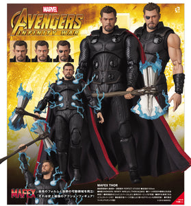 <SheetNo:80414/OrderPrice$561> No.104 雷神Thor (Avengers:I.W.Ver)=MAFEX