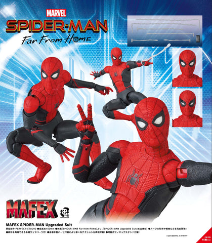 <SheetNo:80729/OrderPrice$530> No.113 蜘蛛俠Spider-Man (Upgade Suit)=Spiderman:Far From Home MAFEX