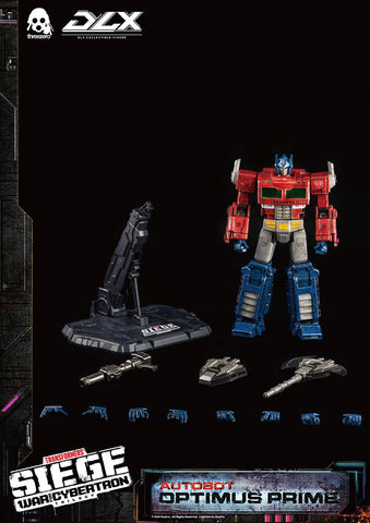 <SheetNo:81241/OrderPrice$1300> 柯柏文Optimus Prime (TF:SIEGE WFC)=DLX Collectible Series