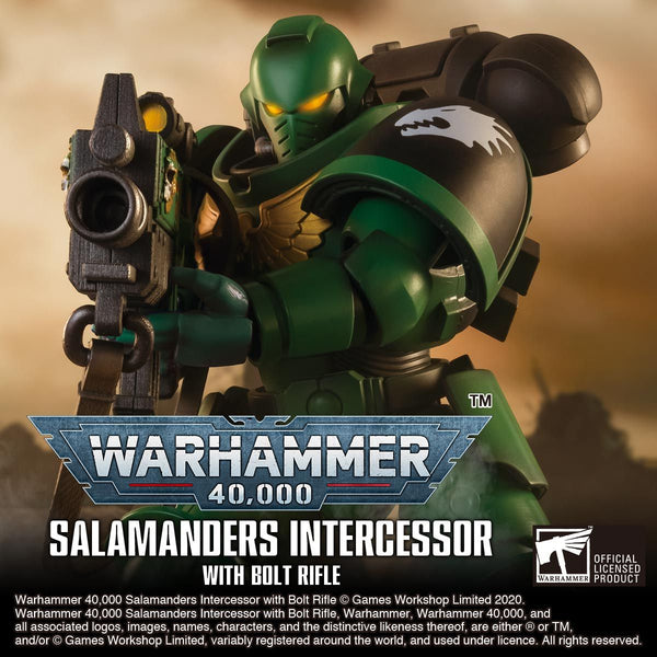 <SheetNo:32334/OrderPrice$999> Salamanders Intercessor With Bolt Rifle=Warhammer 40,000 可動figure