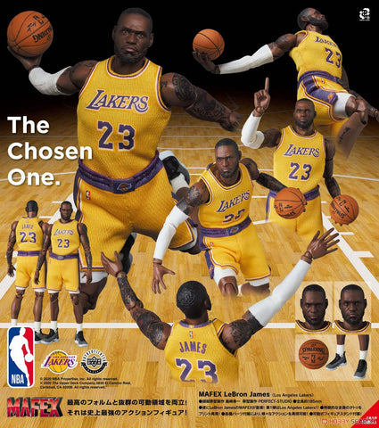 <SheetNo:81003/OrderPrice$646> No.127 勒邦占士LeBron James (L.A.Lakers)=NBA MAFEX
