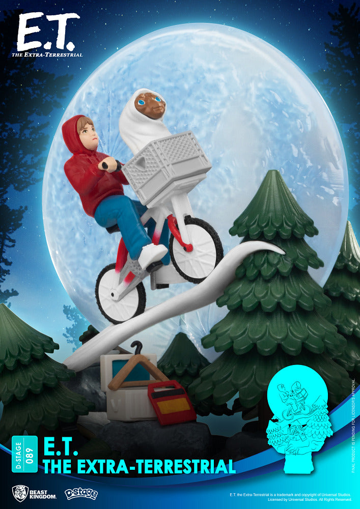 <SheetNo:20973/OrderPrice$189> DS-089 The Extra-Terrestrial=E.T.  Diorama Stage