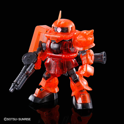 <SheetNo:31806/OrderPrice$105> MS-06S 馬沙專用渣古2(CS Frame Ver)(Clear Color)=SDCS模型(GundamBase限定)