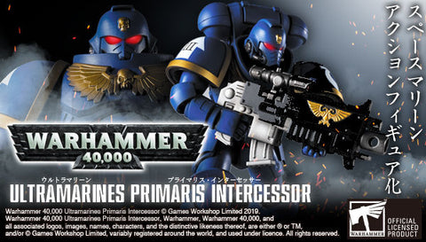 <SheetNo:31311/OrderPrice$1050> Ultramarines Primaris Intercessor=Warhammer40000可動figure