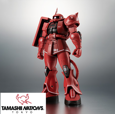 <SheetNo:31757/OrderPrice$475> MS-06S 馬沙專用渣古2 Ver ANIME (Real Marking)=Robot魂(魂Nations Tokyo限定)
