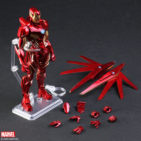 <SheetNo:81197/OrderPrice$819> Ironman (Designed By 野村哲也)=Marvel Universe Variant BringArts
