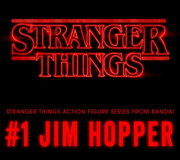 <SheetNo:32890/OrderPrice$555> Stranger Things #1 Hopper=NETFLIX怪奇物語扭旦