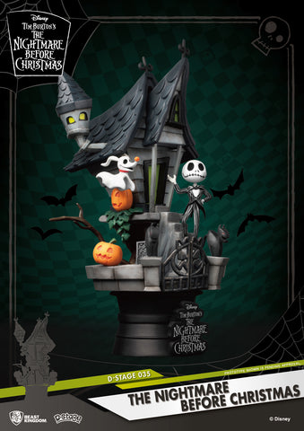 <SheetNo:20402/OrderPrice$209> DS-035 The Nightmare Before Christmas=D-Select盒玩