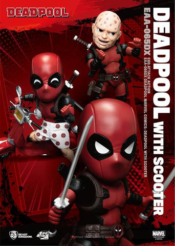 <SheetNo:20486/OrderPrice$990> EAA-065DX Deadpool With Scooter=Marvel Egg Attack Action