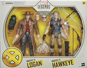 <SheetNo:81238/OrderPrice$399> Anv.8 Old Logan and Old Hawkeye=Marvel Legends Series X-Men