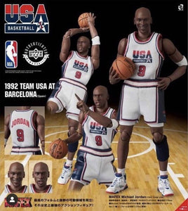 <SheetNo:81120/OrderPrice$666> No.132 米高佐敦 (1992 Team USA)=NBA MAFEX
