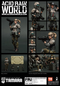 <SheetNo:81288/OrderPrice$270> FAV-A29 塔瑪拉Tamara=Acid Rain 1/18 Action figure