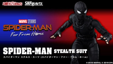 <SheetNo:30952/OrderPrice$518> 蜘蛛俠(stealth suit) (Spiderman:Far From Home)=SHF