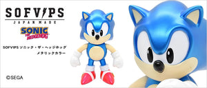 <SheetNo:32710/OrderPrice$750> 超音鼠Sonic (金屬色Ver)=Sonic the Hedgehog SOFVIPS