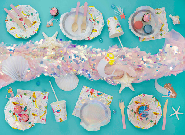 Summer Party Ideas - Mermaid Party Tablescape