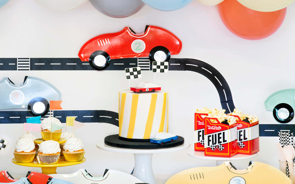 Race Car Themed Party Ideas And Tips for Kids by Momo Party