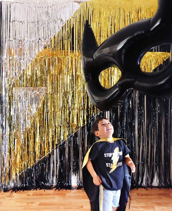 Incredible Lightning Bolt Photo Booth Backdrop