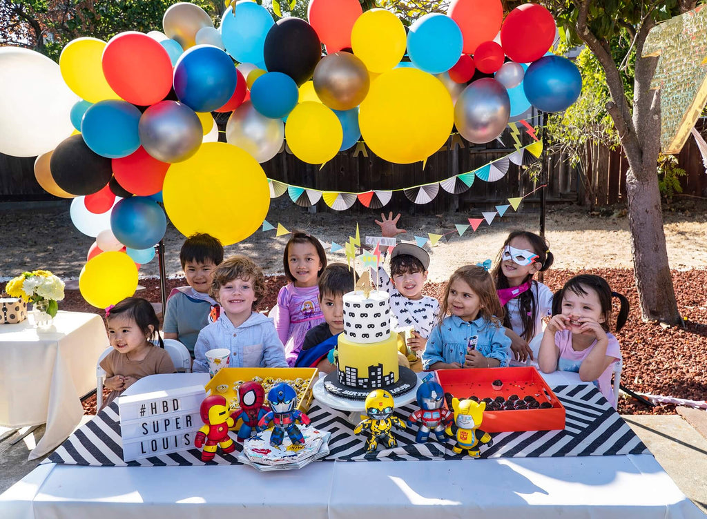 Kids Superhero Themed Birthday Party Ideas