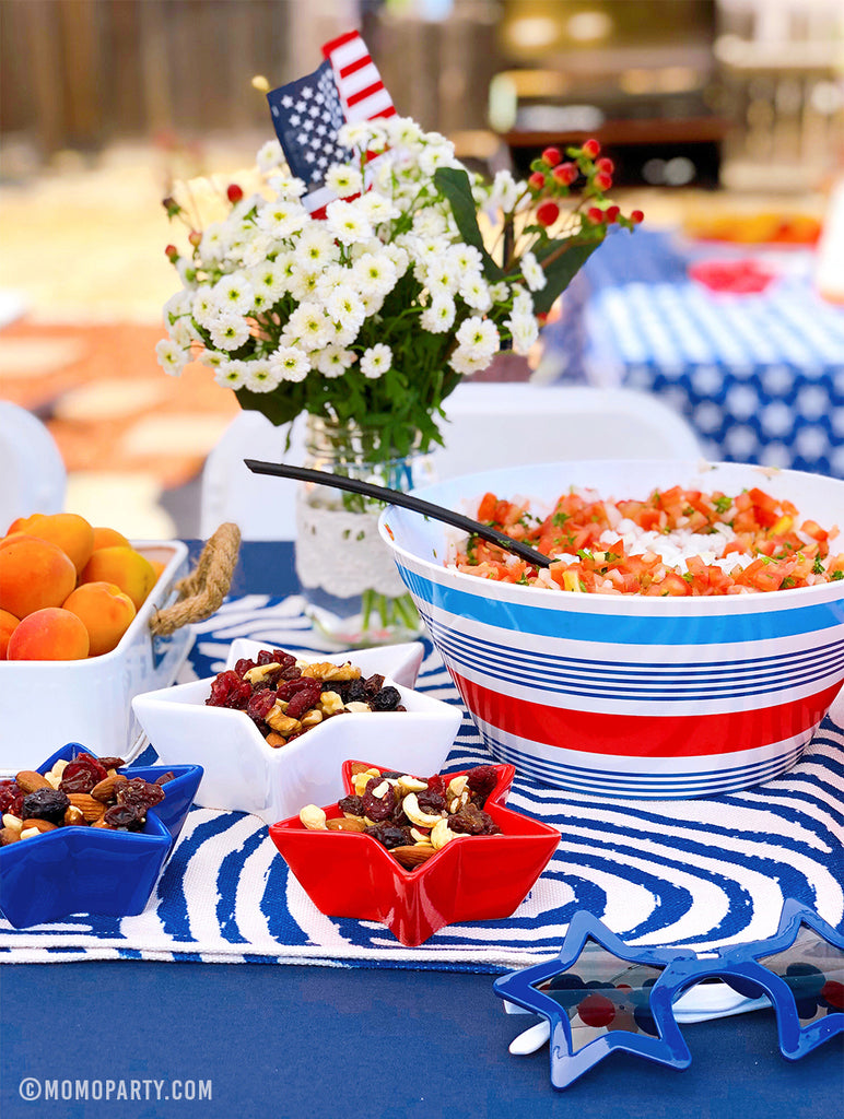 4th of July Tablescape Ideas by Momo Party